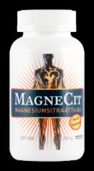 MAGNECIT MAGNESIUMSITRAATTI + B6-VITAMIINI 200 tabl