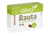 ELIVO RAUTA 25MG B+C  HIVENAINE-VITAMIINIVALMISTE 60 TABL